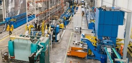 Tuotantohalli